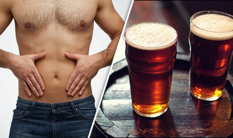 Deshágase de la barriga cervecera