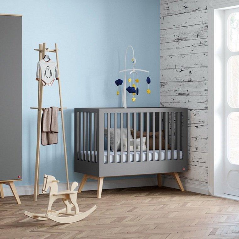 cuna-gris-nogal-habitacion-bebe