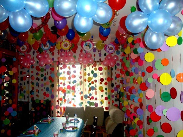 decoracion de cumpleaños colores