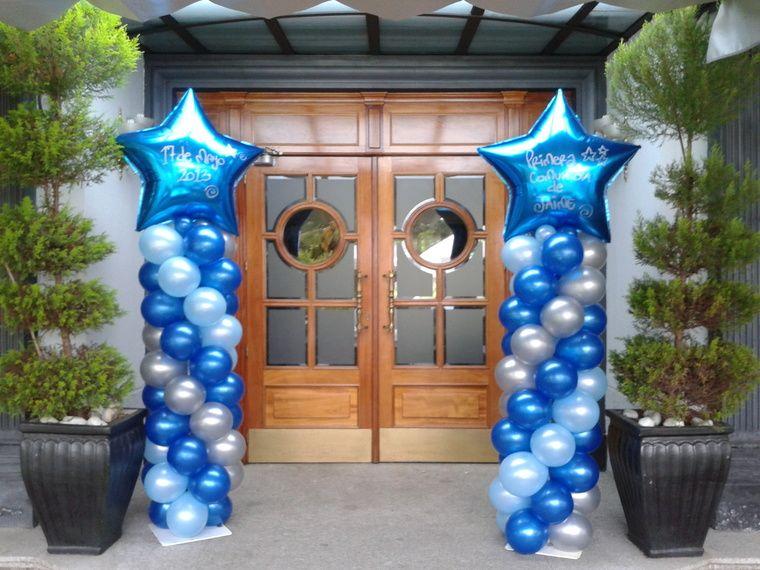 decoracion de cumpleaños entrada