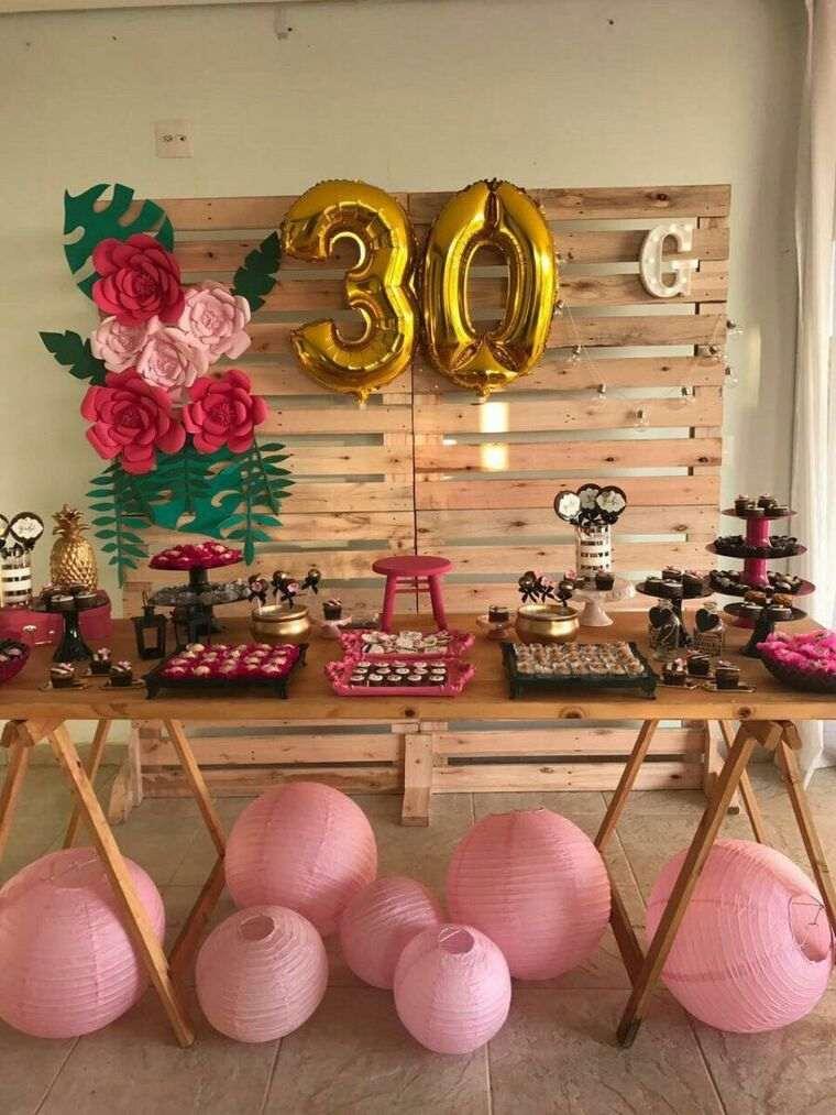 decoración de cumpleaños fiesta