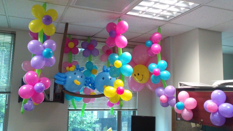 decoracion de cumpleaños figuras