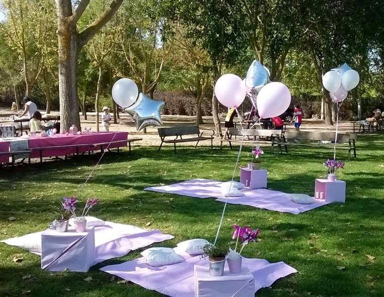 decoracion de cumpleaños parque