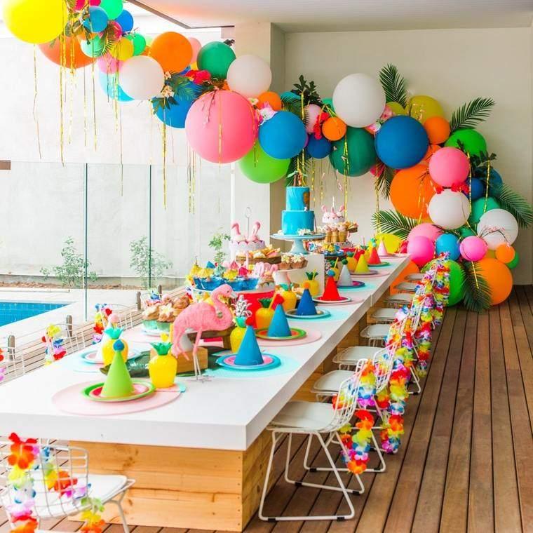 decoracion de cumpleaños salon