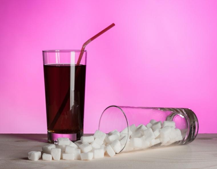 bebidas con mucha azúcar