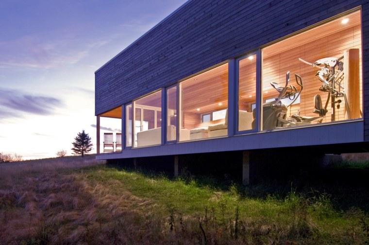casa de campo lujosa