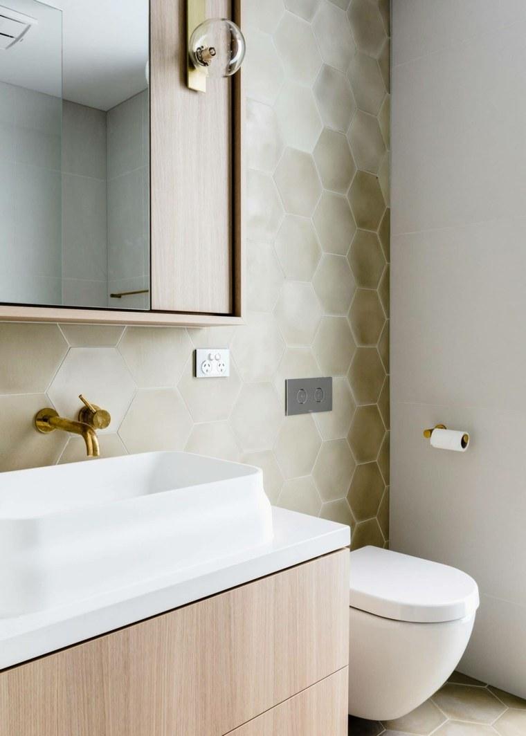 Originales diseños de cuartos de baño