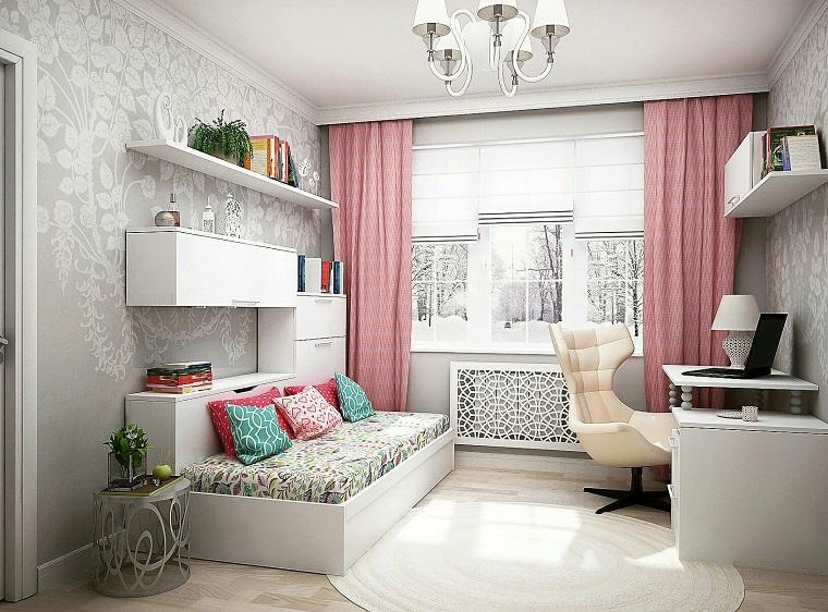 recamaras juveniles modernas dormitorio-chica-adolescente-ideas