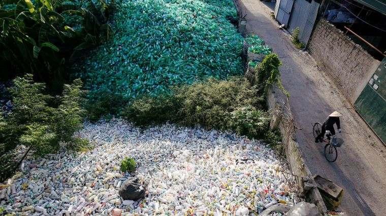 el plastico daño ecosistema