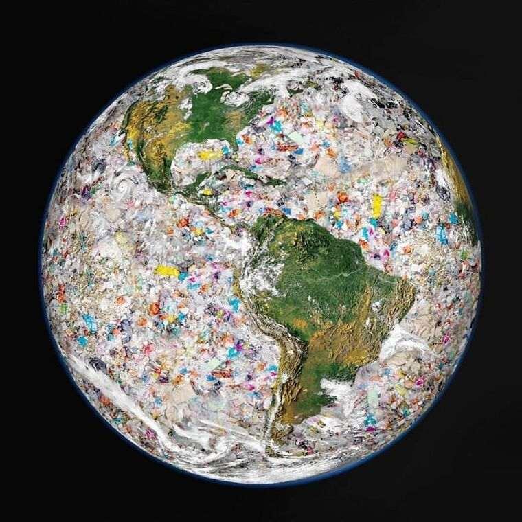 el plastico en todas partes