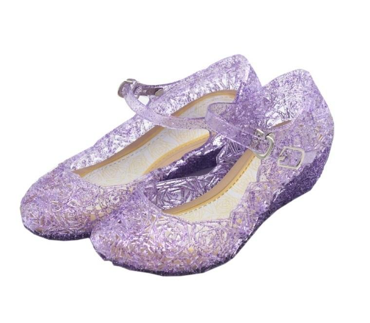 el plastico zapatos