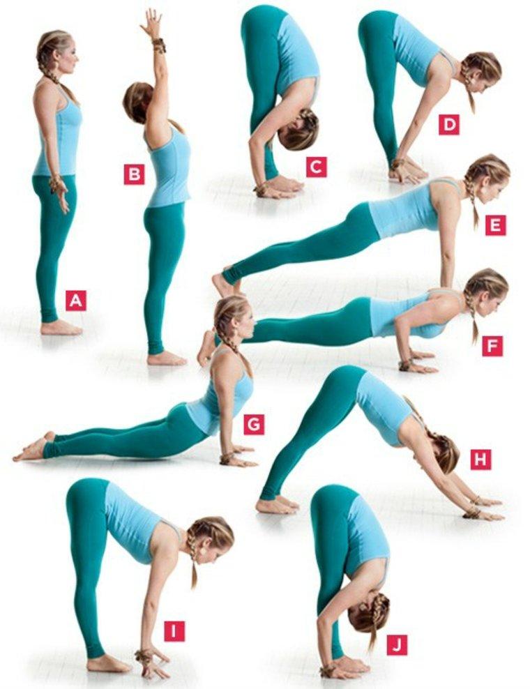 Entrenamiento de yoga