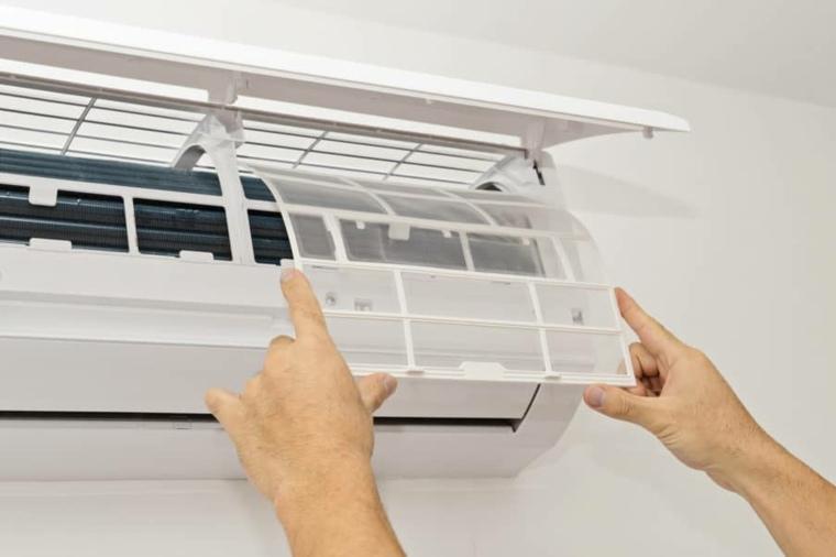 aire acondicionado filtro