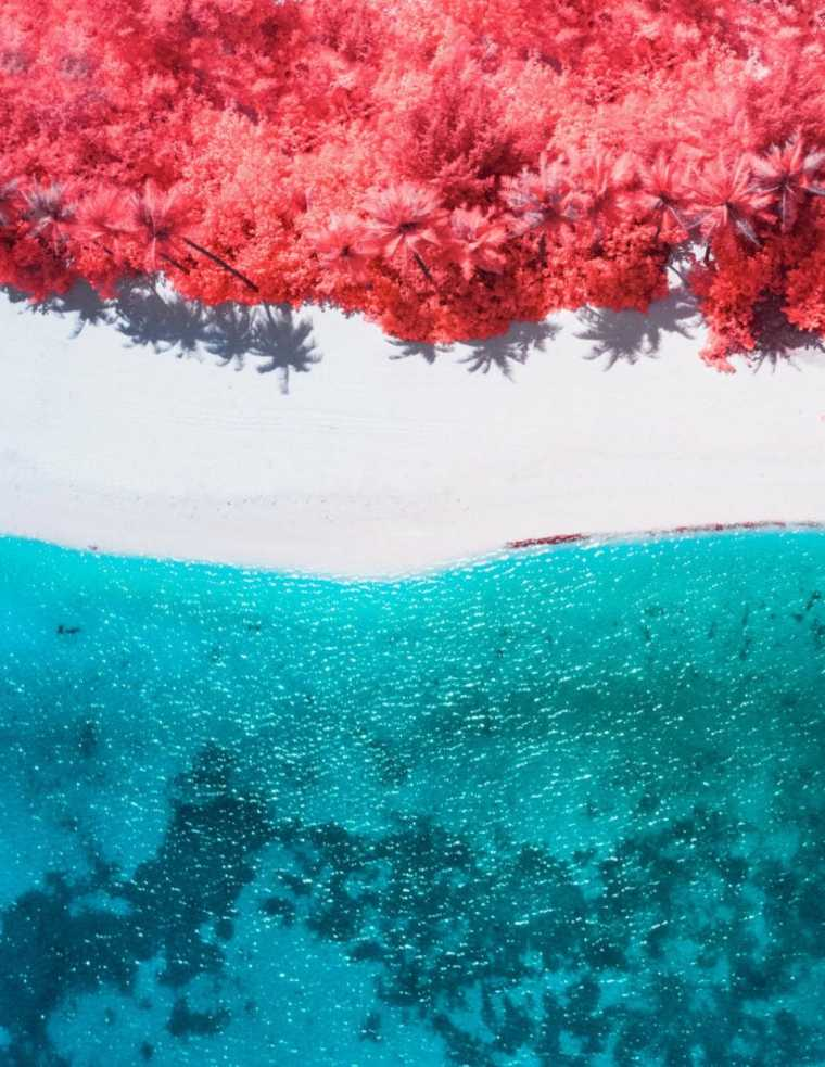 "fotografía ""The Maldives Infraland"""