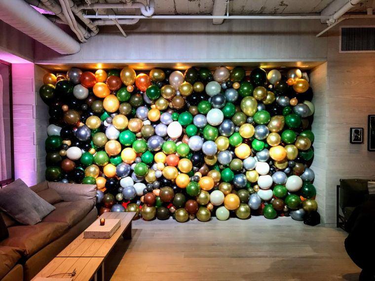 globos paredes