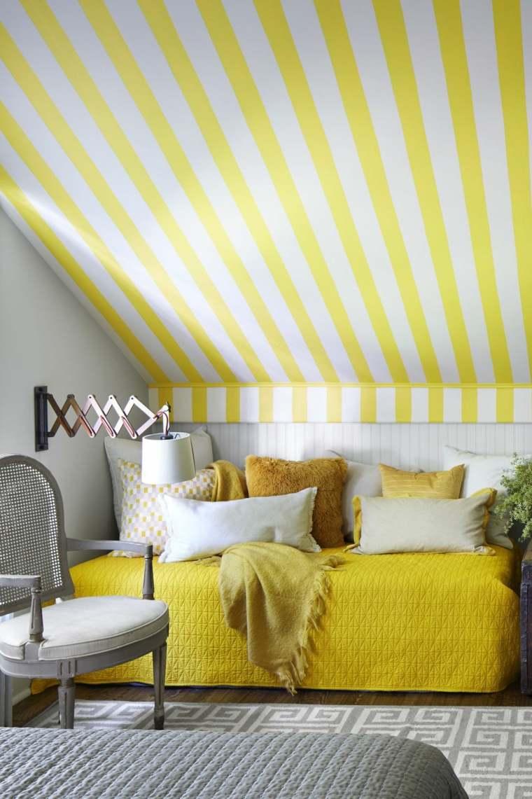 Habitaciones amarillas
