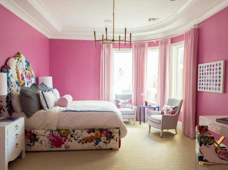 habitacion-dormitorio-chica-rosa