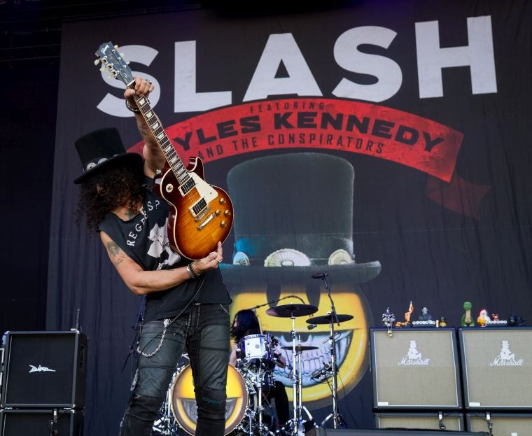 hard rock solo slash