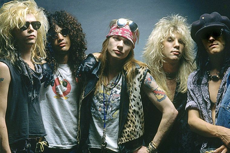 hrad rock gunsnroses