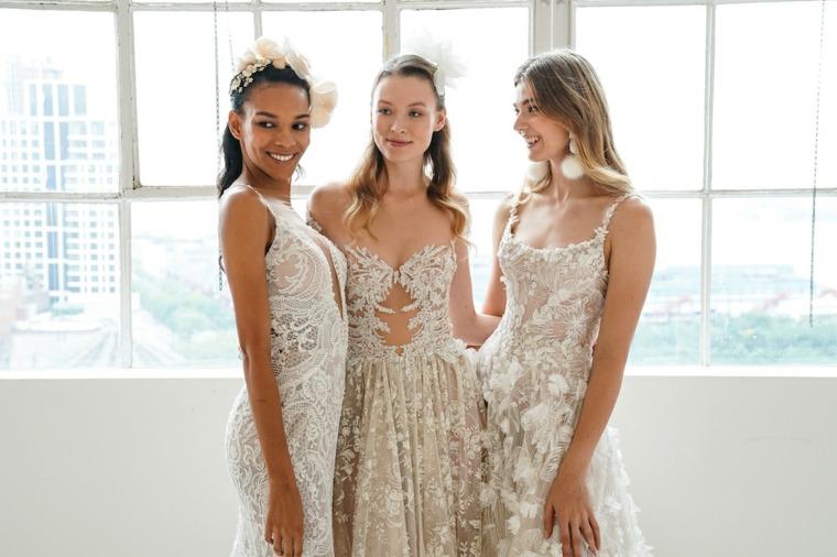Vestidos de damas de honor bordados