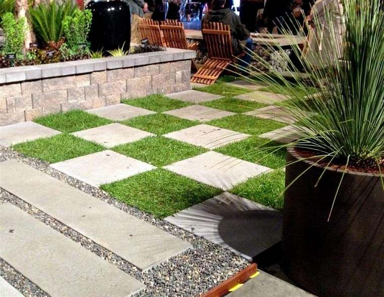 jardin-ideas-estilo-ajedrez