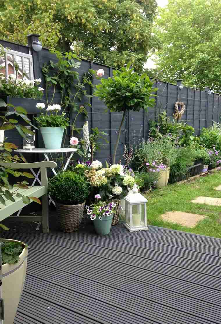 jardines pequeños acogedor