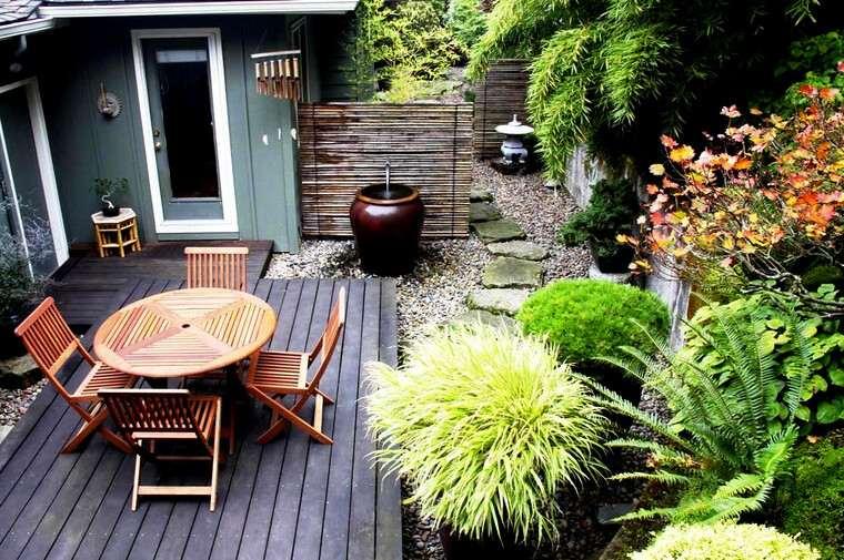 jardines pequeños adornos