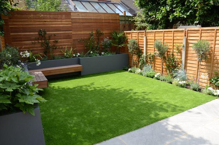 jardines pequeños aire