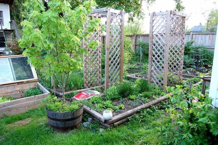 jardines pequeños cerca