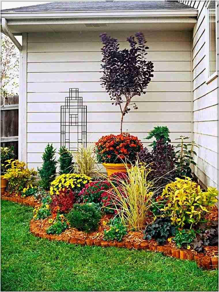 jardines pequeños color