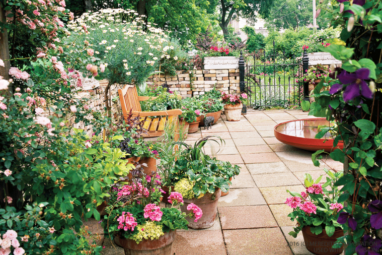 jardines pequeños colorido
