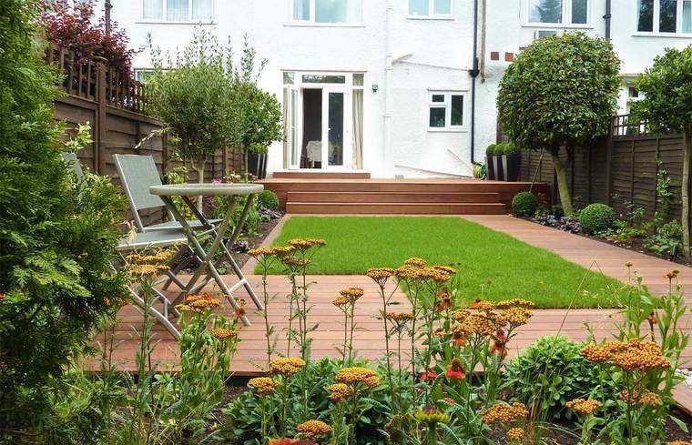 jardines pequeños simple