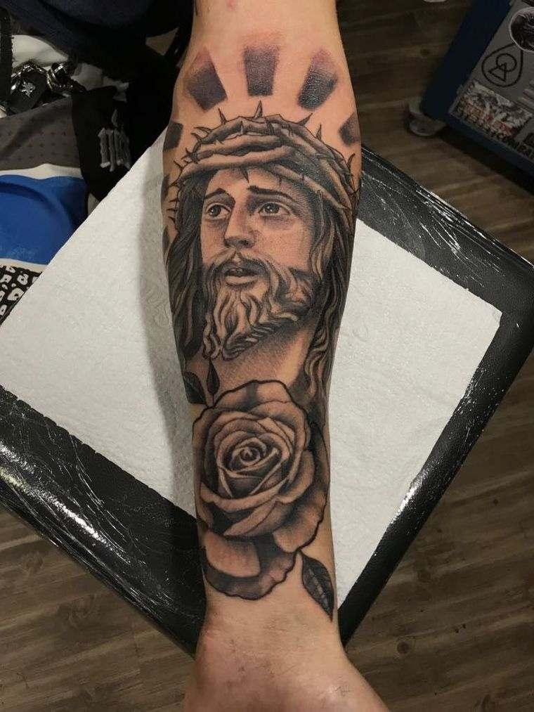 Jesucristo Significados De Los Tatuajes Con Sus Diferentes Imagenes