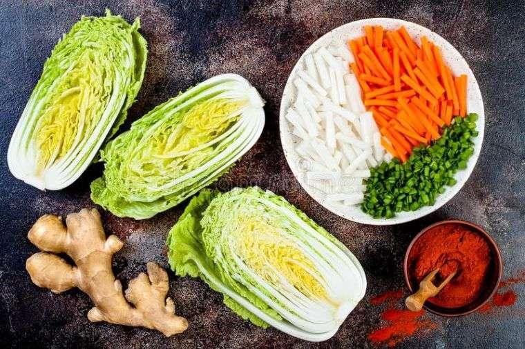 kimchi receta ingredientes