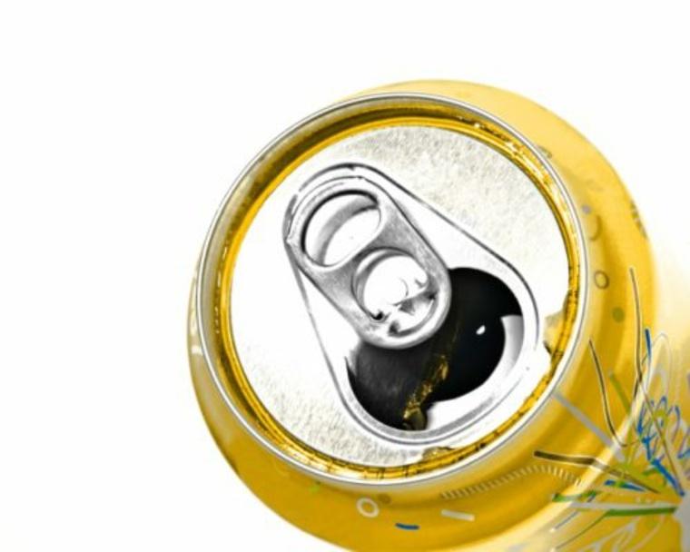 lata de refresco