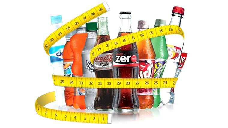 los refrescos dieta
