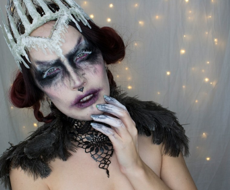 maquillaje de bruja cine