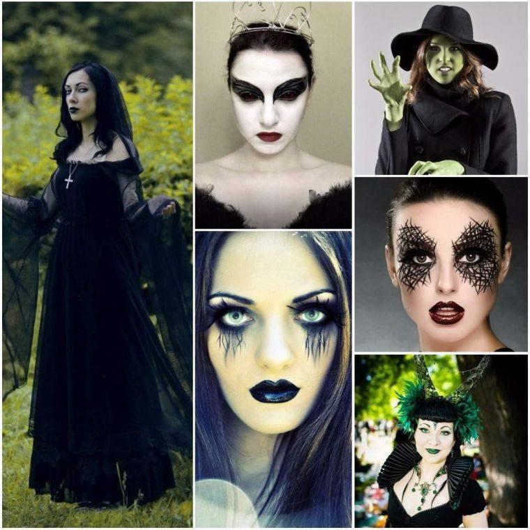maquillaje de bruja estilos