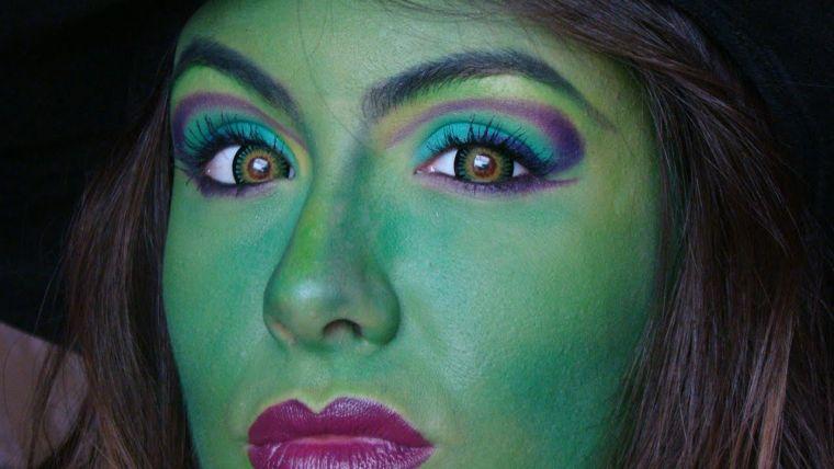 maquillaje de bruja green