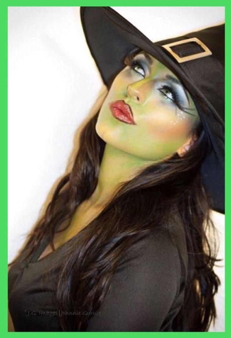 maquillaje de bruja sexy