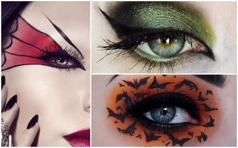 maquillaje de bruja varios