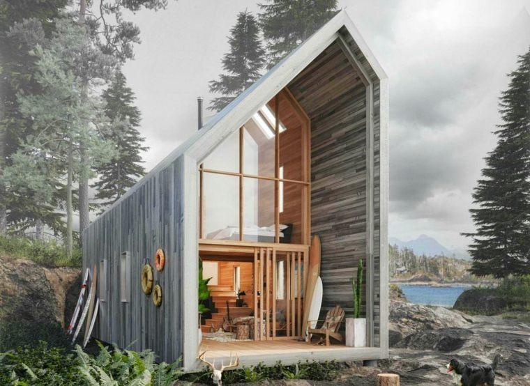 impresionante diseño de cabaña