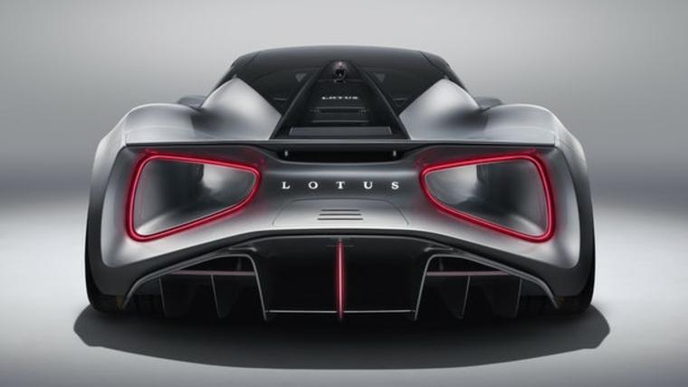 bonito trasero de Lotus