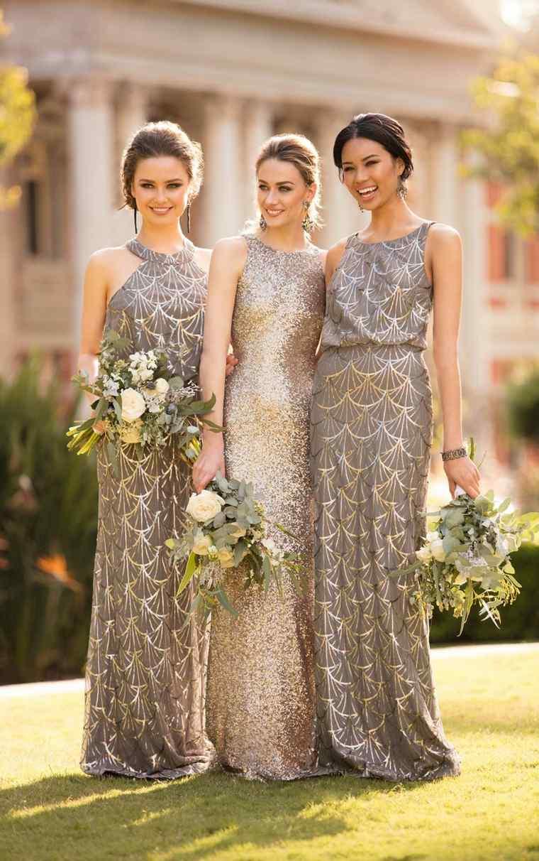 Vestidos de dama de honor de lujo