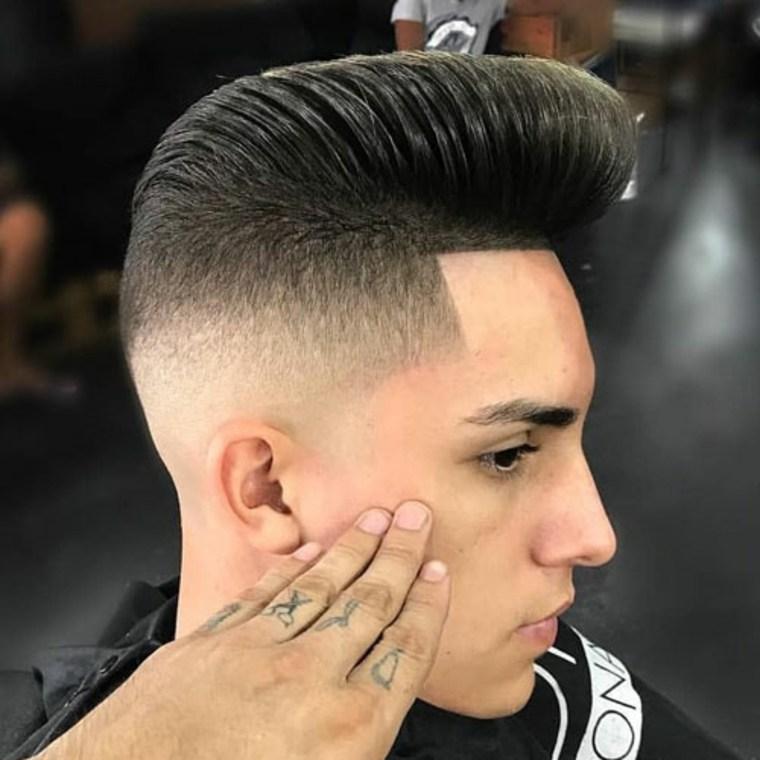 Cortes de cabello hombre 2019 - Copete