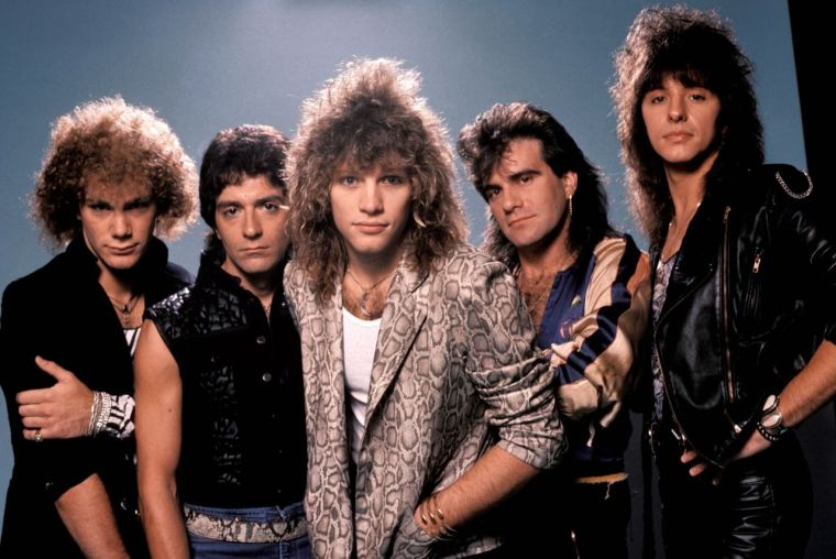 peinados de los 80 jovi