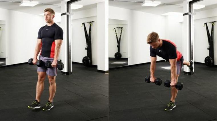 tipos de ejercicios con pesas
