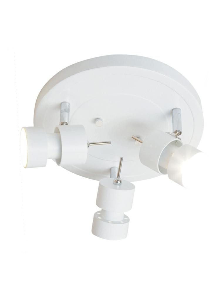 lámpara de techo con tres focos