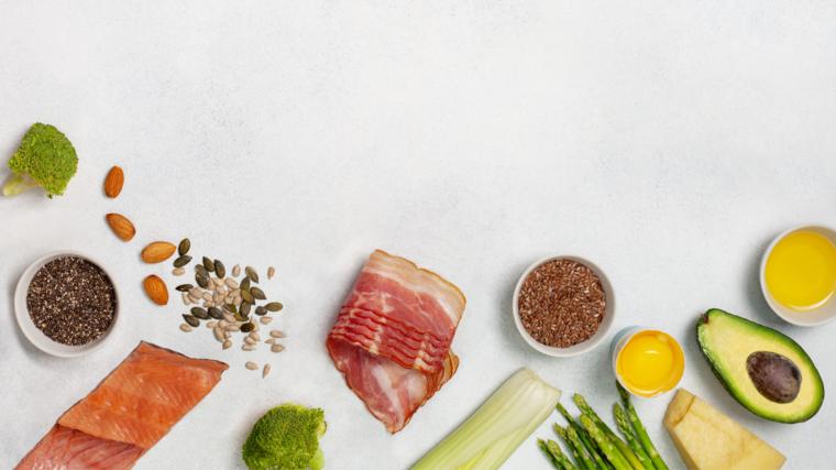 ¿Qué alimentos comer en una dieta Keto?
