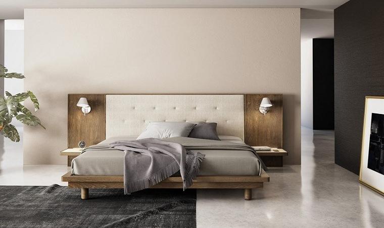 recamaras modernas de madera-cama-diseno-Joel-Dupras